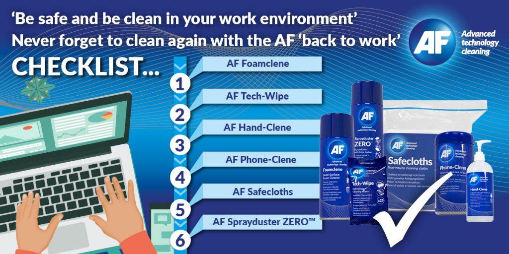 IRC BV schone werkplek checklist